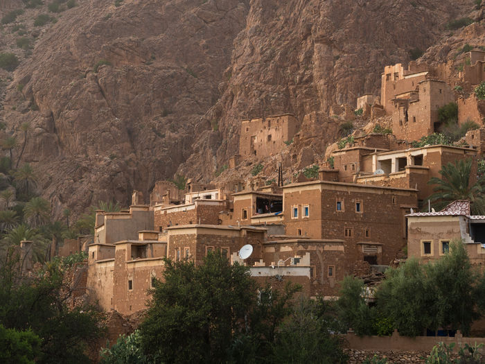 Oumesnat village near Tafraout, Morocco Houses Morocco North Africa Travel Architecture Berber  Building Exterior Built Structure Cliff Maroc Mountain Oumesnat Rammed Earth Scenics Town Traditional Architecture Traditional Village Village