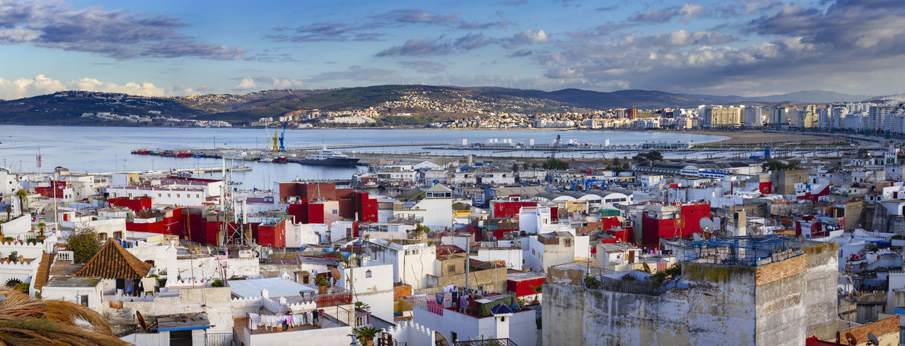 Harbour of Tangier, Morocco, Africa. City Cityscape Harbour Morocco MoroccoTrip Northafrica Panorama Tangier Africa Beach Coast Morocco Beauty Ocean