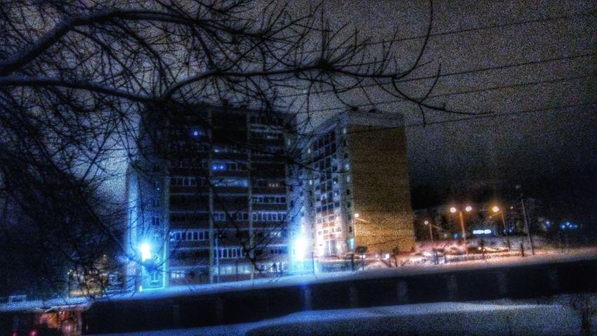 Романтика городских окраин Day Kirov декабрь Russia киров Vyatka Kirovpriroda вечер👍 снег❄ Zima Kirovograd снег