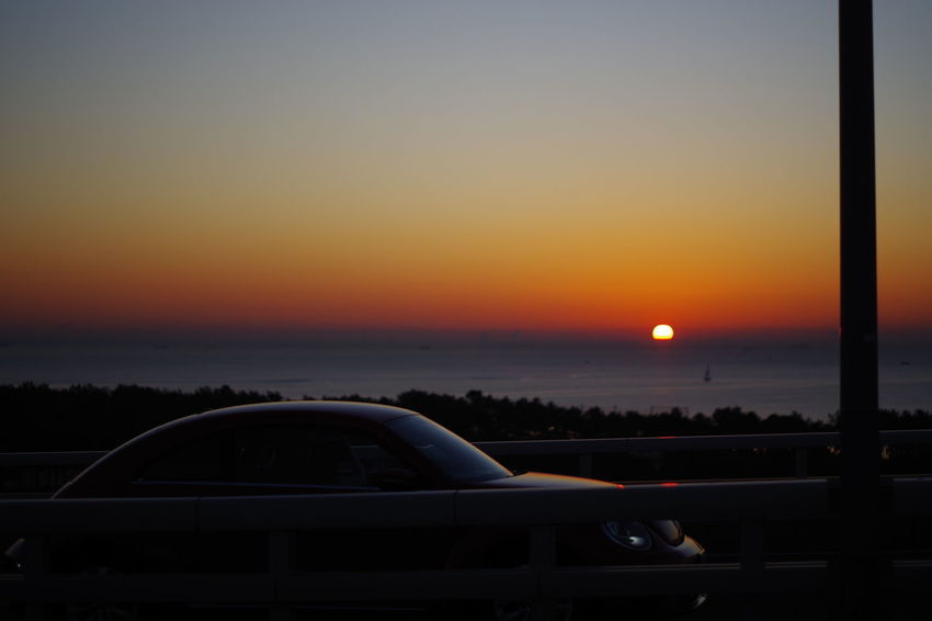 Sunset Car No People Transportation Sky Travel Destinations Scenics