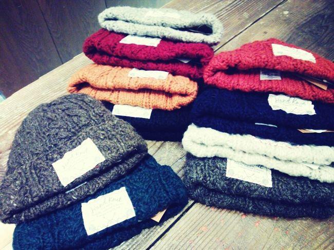 Fashion 帽子 どの色を買おうかな?