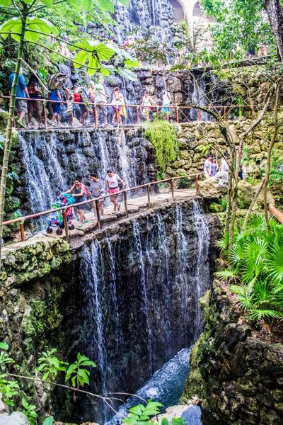 Waterfall in Mexico Attraction In Mexico Authentic Mexican Food Holidays Jungles Mexico National Landmark Park Pyramid Riendlylocalguides Things To Do Vacations Waterfall What To See In Mexico Where To Go Xcaret