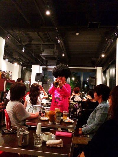 funny! Live Music Cafe Funny Enjoying Life