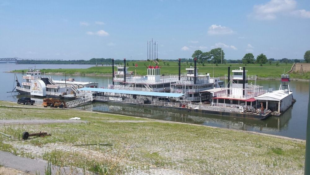 River Boat Downtown Memphis