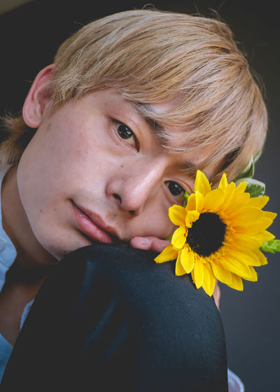 Sun flower boy