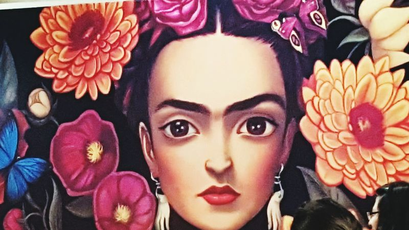 Frida Khalo Young Women Adults Only Variation