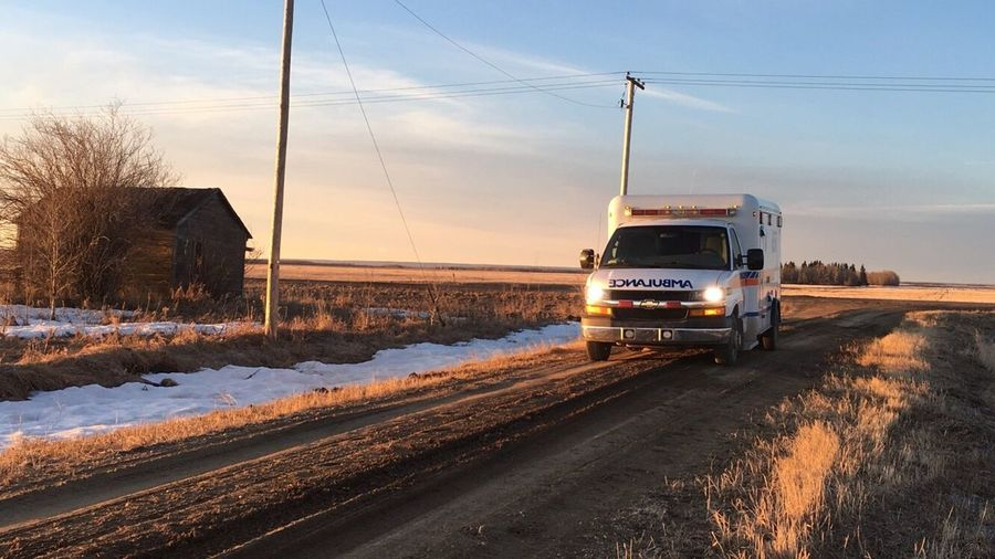 EyeEm Selects EMS Ambulance Sunrise Let's Go. Together. The Week On EyeEm