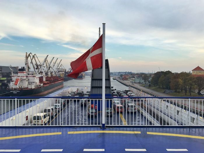 Ferry Goodbye Baltics Leaving Baltics2k16