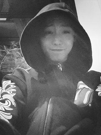 Blackandwhite Selfie Taking Photo Just Me Photooftheday POTD Chrome Hearts
