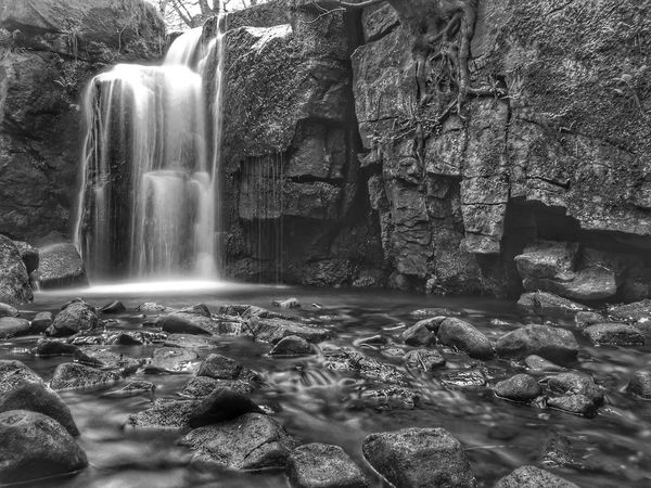 Motion Waterfall Long Exposure Rock - Object Water Nature No People Day Outdoors Beauty In Nature Scenics