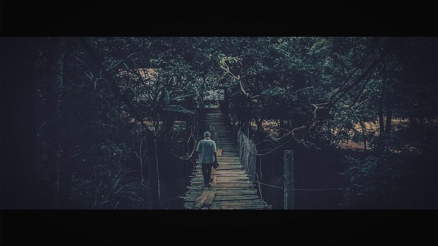 Come back home alone...! Bridge Film Photography Cinematic Photography Phu Quoc Eyem Best Shots Eyem Gallery Showcase April EyeEm Best Edits Vietnam Trip Vietnam Canon400d Canon 18-55 Traveling Home For The Holidays