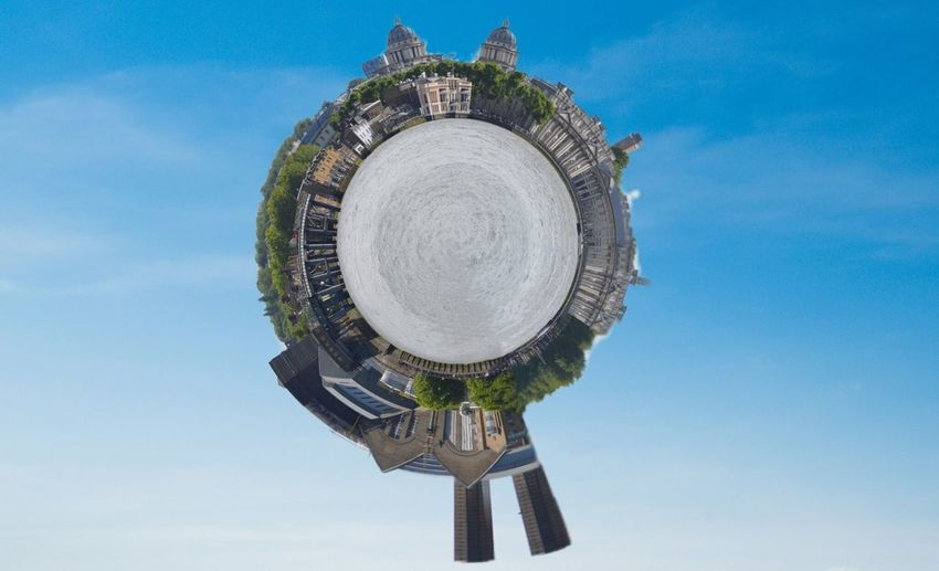 Greenwich panorama... Greenwich Panorama Spin Wide View Photo Planet Polar Coordinate Ladscape