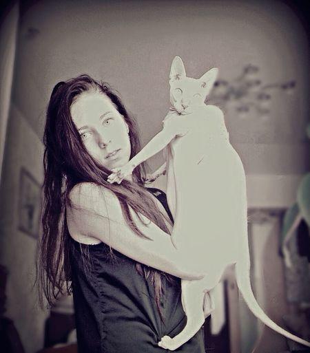 My cat??