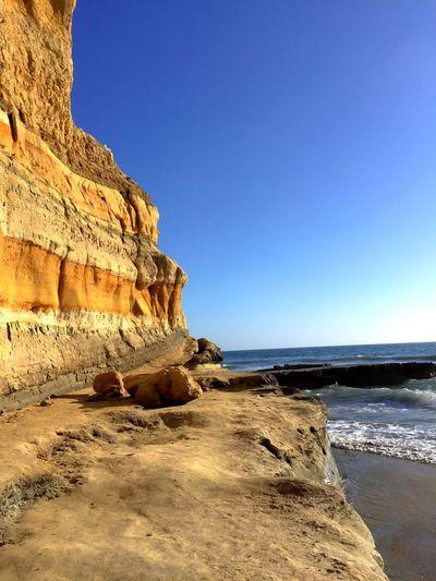 Pacific Cliffs Ocean Beach Nature Landscape