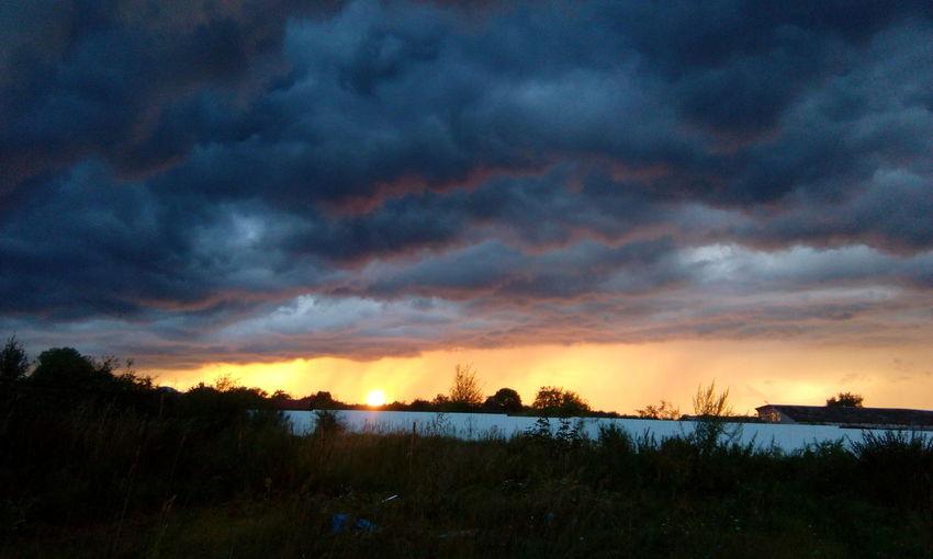 Sunset Dramatic Sky Nature First Eyeem Photo