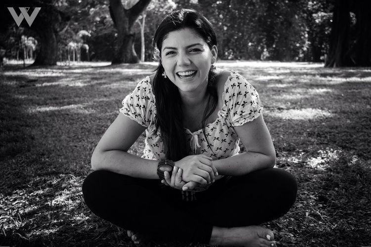 Birthday photo shoot Lifestyles Outdoors Blackandwhite Portrait Happiness Smiling Pentax K-50 Garden