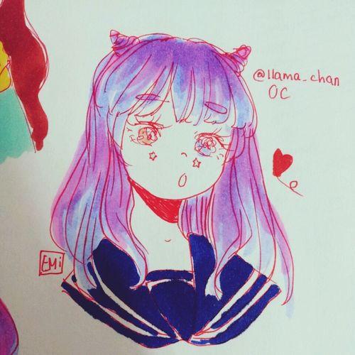 KAWAII Art Drawing Smile