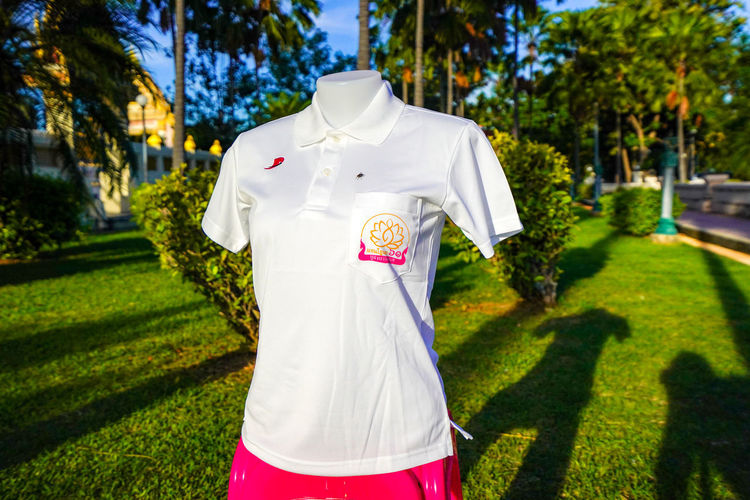 Day Grass Nature Outdoors Plant Round Neck Shirt T Shirt Tee Shirt Tree White Shirt White Shirt And Skirt