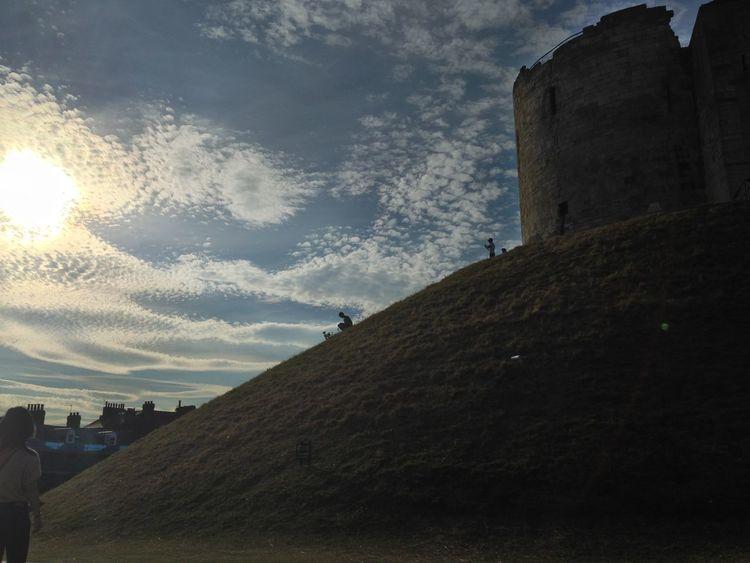 York Cloud - Sky Hill Hillside History Sky The Past