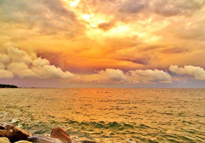 Good night. 💖 Denmark Enjoying Nature Tadaa Community EyeEm Sunset.