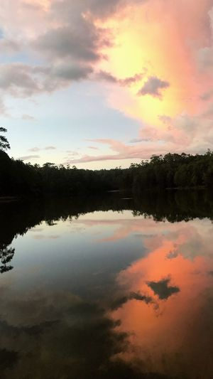 Cloud - Sky Sky Water Reflection Beauty In Nature Lake Tranquility