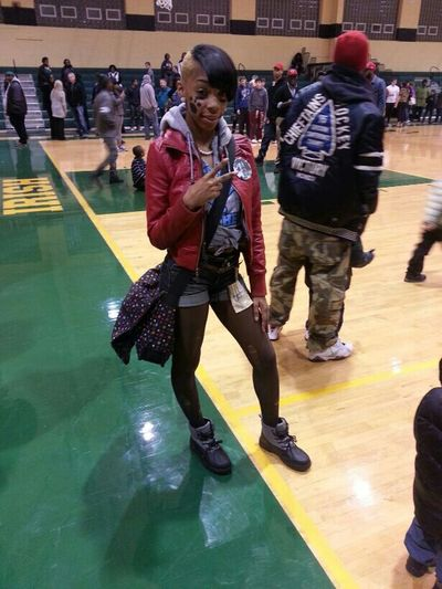Me At the Ursuline & East Gamee!