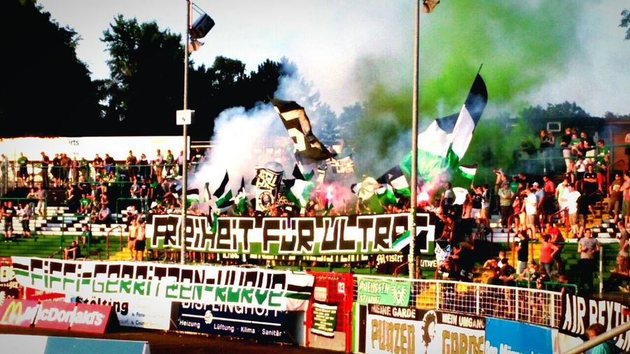 Preußenstadion Preußen Münster Muenster Scp 1906 Ultras Freiheit Fgk