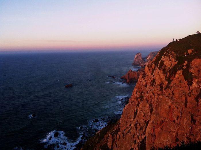 The Great Outdoors With Adobe Portugal Sunset Nature Solotraveler Peace And Quiet Cliffs Edgeoftheworld Edgeofthemainland Cabo De Roca