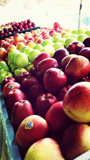 Decided to stop by a cute little farmers market the other day, home grown food is so refreshing! Apples Fall Farmers Market Fruit