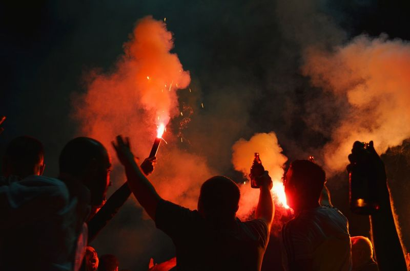 Celebrating by singing songs with beers in hand and torches 😀 Football Fever RePicture Masculinity Sound Of Life My Best Photo 2015 Capture The Moment Capturing Freedom The Fan Club Collected Community Telling Stories Differently Life In Motion Learn & Shoot: Layering Creative Light And Shadow Here Belongs To Me People Beers Drinking Beer Cheers Having Fun Celebrating Torches Nikon D5100  EyeEm Masterclass Party Youth Of Today 43 Golden Moments