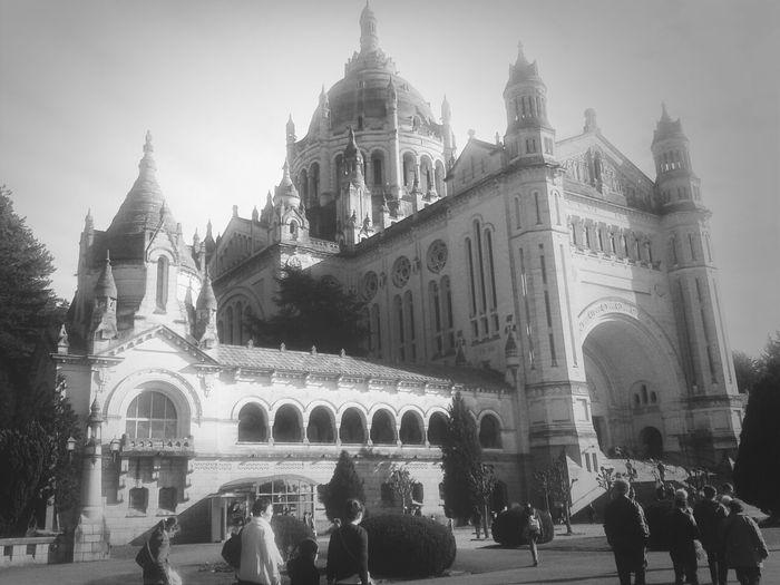 Architecture Church Black & White Lisieux