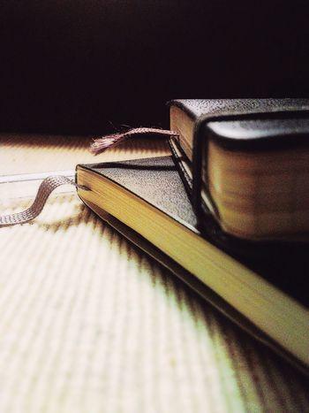 Stille Notizen. Moleskine Still Life Table Book Indoors  Close-up Day Notice