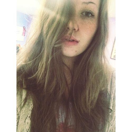 Oldpicture Selfie Teen Girl Summer