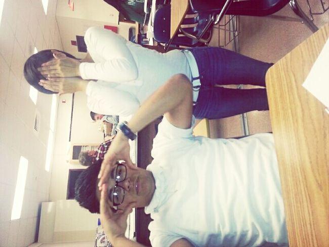 cuz we both were wearing white @imsooraww