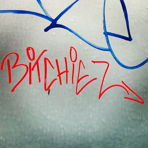 Streetart Graffiti Bitchiez