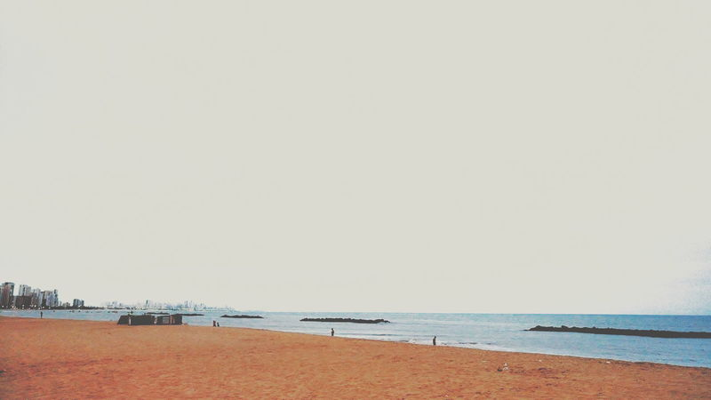 Beach Sea Sand Outdoors Horizon Over Water Nature Day Tranquility Summer Sky Scenics Water Beauty In Nature EyeEm Best Shots Vscogood Snapseed Vscocam VSCO EyeEm Nature Lover Landscape The Great Outdoors - 2017 EyeEm Awards