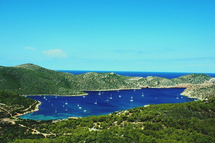 Blue Green in the island of Cabrera Nature Landscape Landscape_Collection Sea View Illes Balears