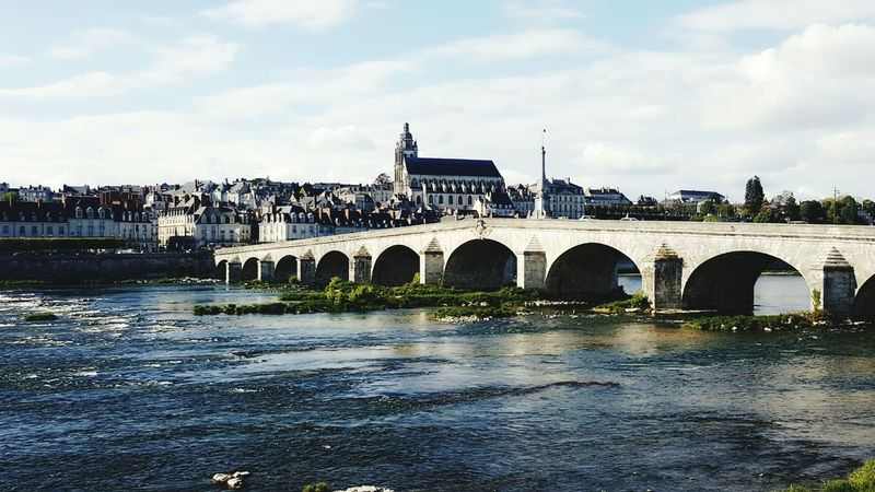 Blois Water Pont Visionphotography City Architecture Sky Day