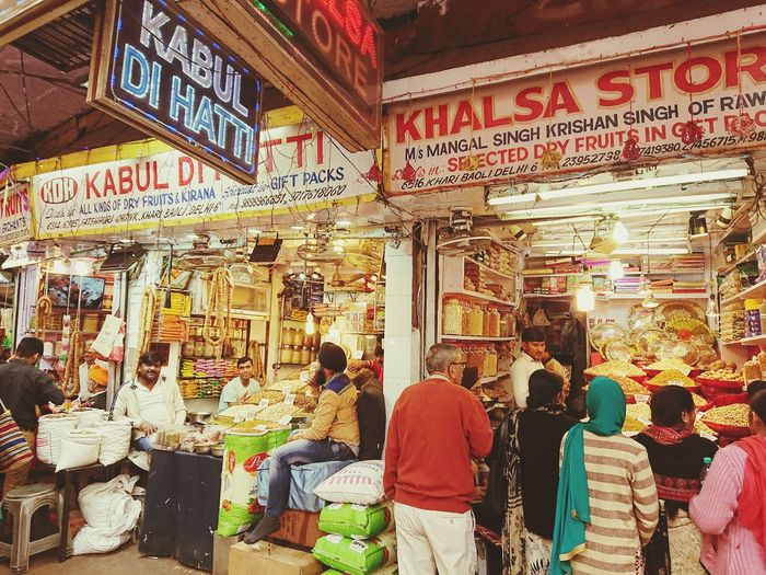 Dehli markets Modern Workplace Culture Lifestyles Cultures India Dehli Busy Market Market Color Busy Working Perspective City Multi Colored Architecture For Sale Shop Non-western Script Display Visiting