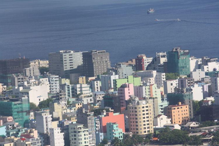 Coastal city view