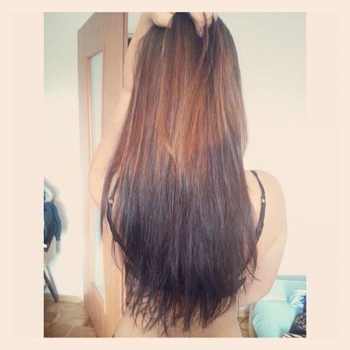 Girl Polishgirl Hair Longhair ombre like likes4likes likers likes l4l followme followers follow ruda wredota grr ↑