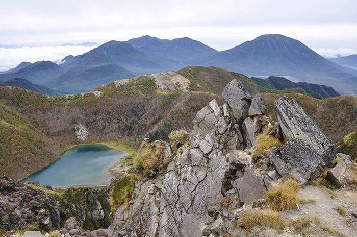百名山 二百名山 日光白根山 男体山 女峰山 Mt.Shirane