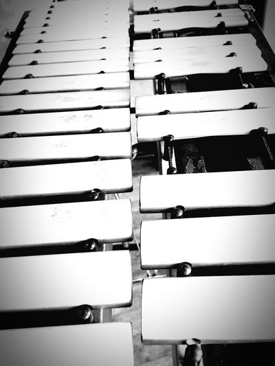 Music Instrument Vibraphone Xylophone Mallets Sound Blackandwhite Monochrome Photography