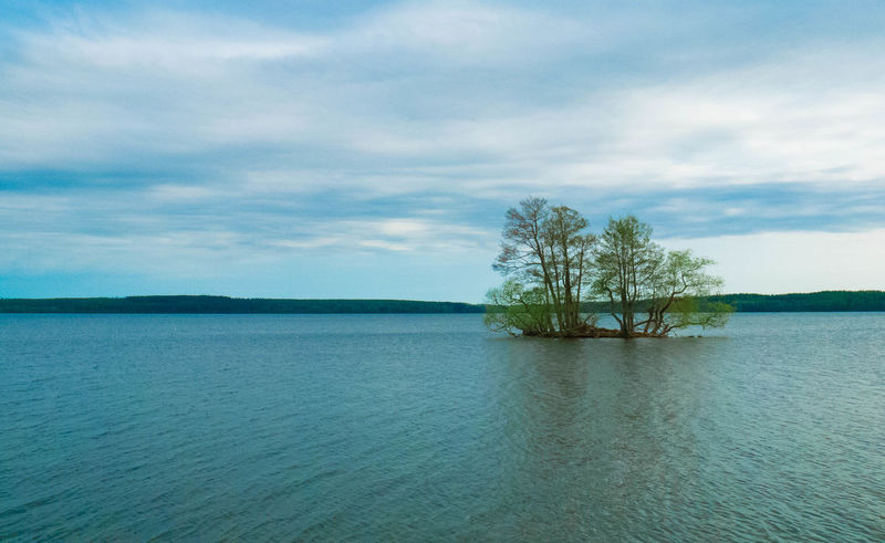 Beauty In Nature Cloud - Sky Day Landscape Nature No People Outdoors Scenics Sea Sky Tranquil Scene Tranquility Tree Water