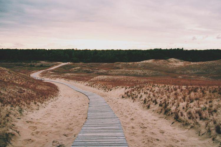 Dunes in
