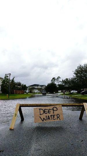 Text Cloud - Sky Tree Outdoors Day No People Water Sky Nature Hurricane Hurricane Irma Damage Flood Jacksonville
