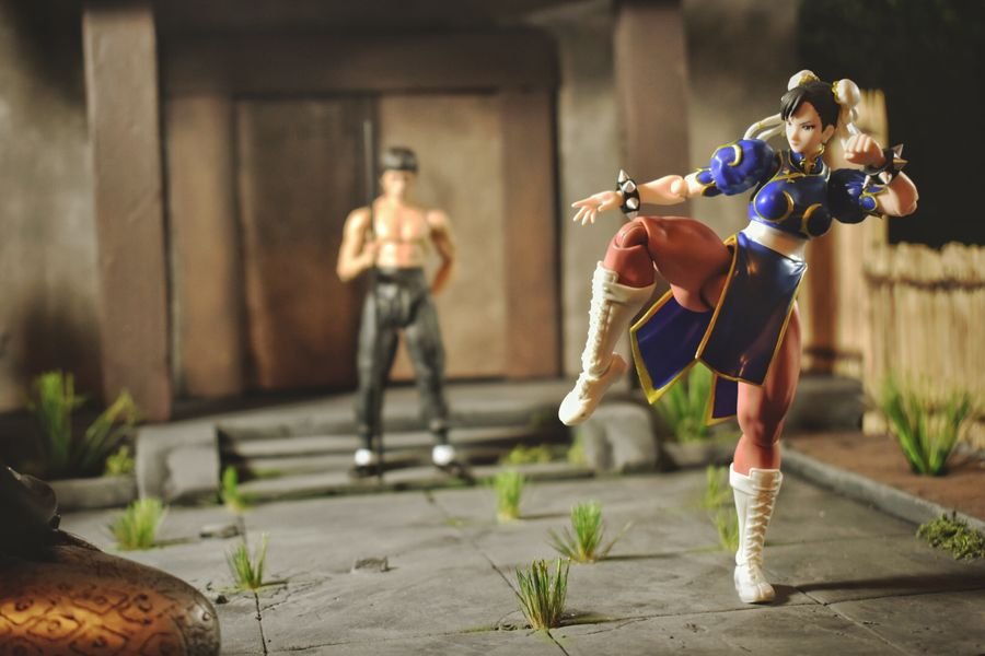 Chun Li ToyAesthetics CinematicToyPhotography Check This Out Thedragon DramaticToyscene Toycommunity Toyphotography Streetfighter ChunLi