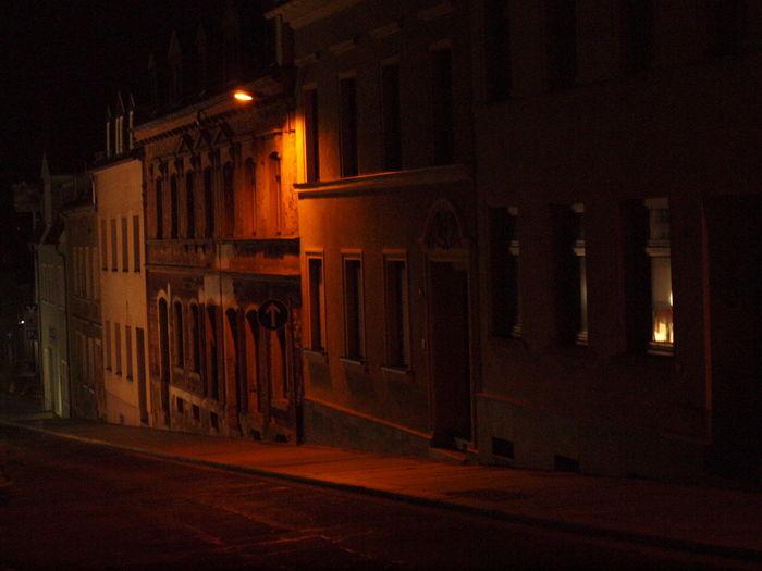 Hohenstein-Ernstthal bei Nacht