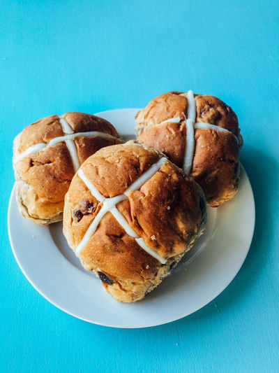 Easter Sweet Food Easter Buns Food And Drink Easter Food Hot Cross Buns