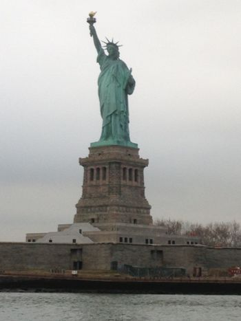 Our lady.. Sculpture Travel Destinations Human Representation Tourism Famous Place Travel International Landmark Art And Craft Art Statue Of Liberty Freedom Capital Cities  Low Angle View Sky Monument Tourist History Sea Water Fresh On Eyeem